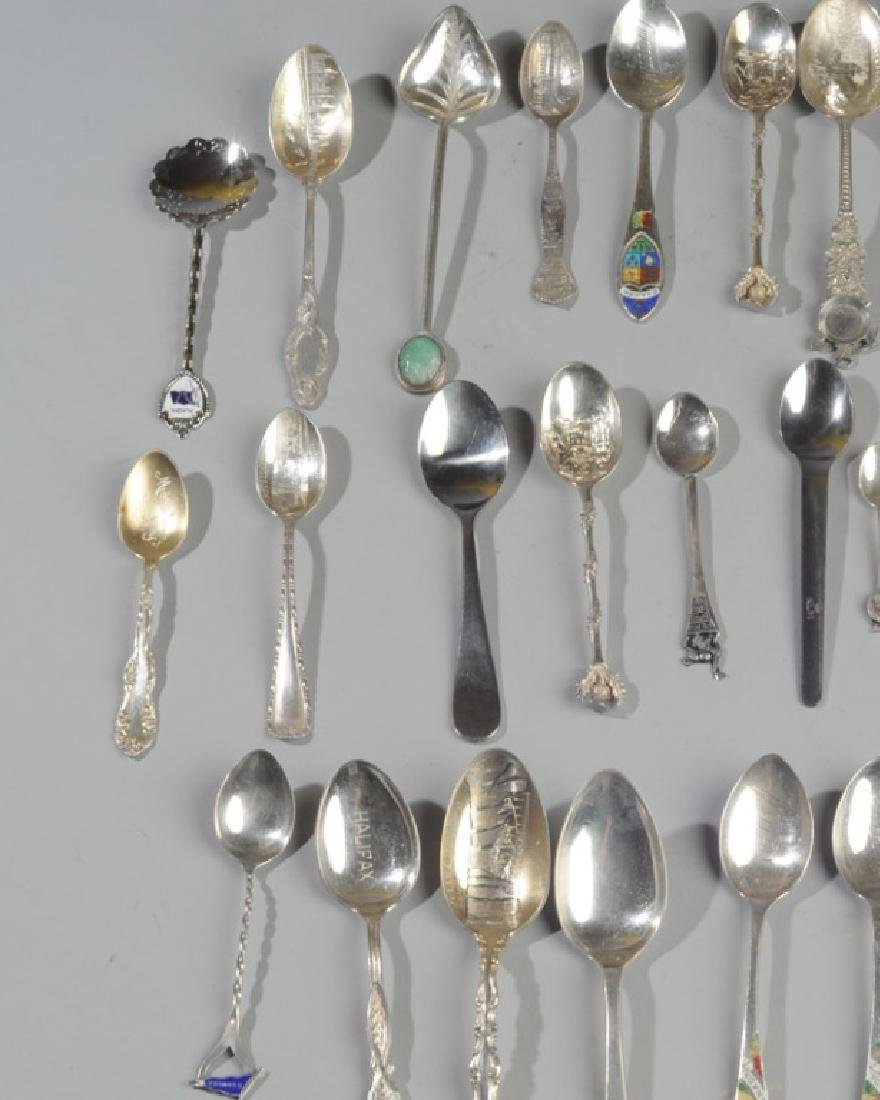 Lot Sterling Souvenir Spoons and More - 3