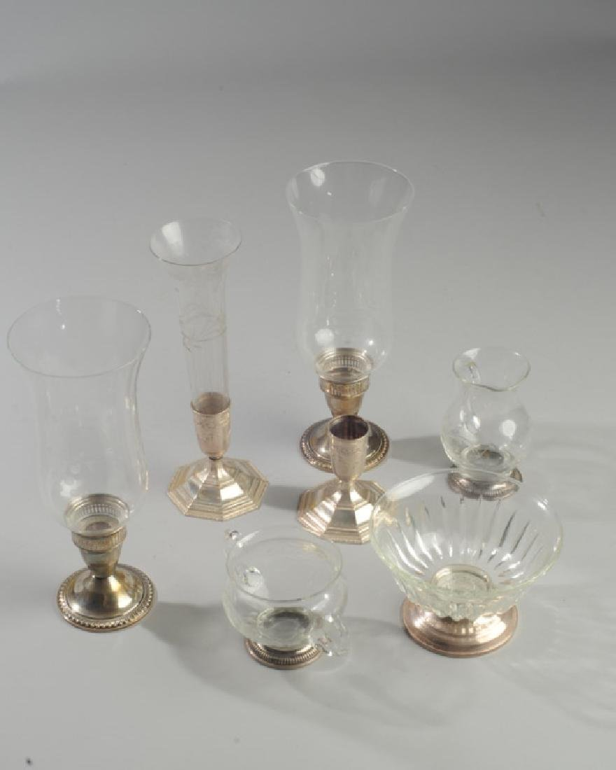 Lot Sterling & Glass Hurricanes and more