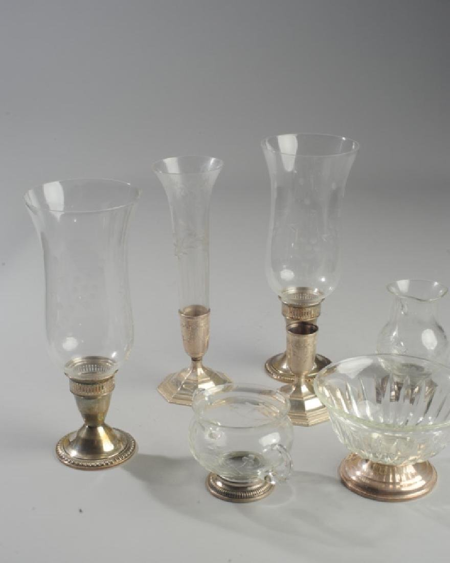 Lot Sterling & Glass Hurricanes and more - 2