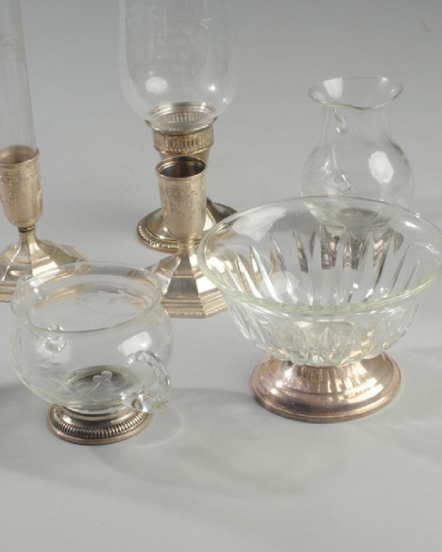 Lot Sterling & Glass Hurricanes and more - 4