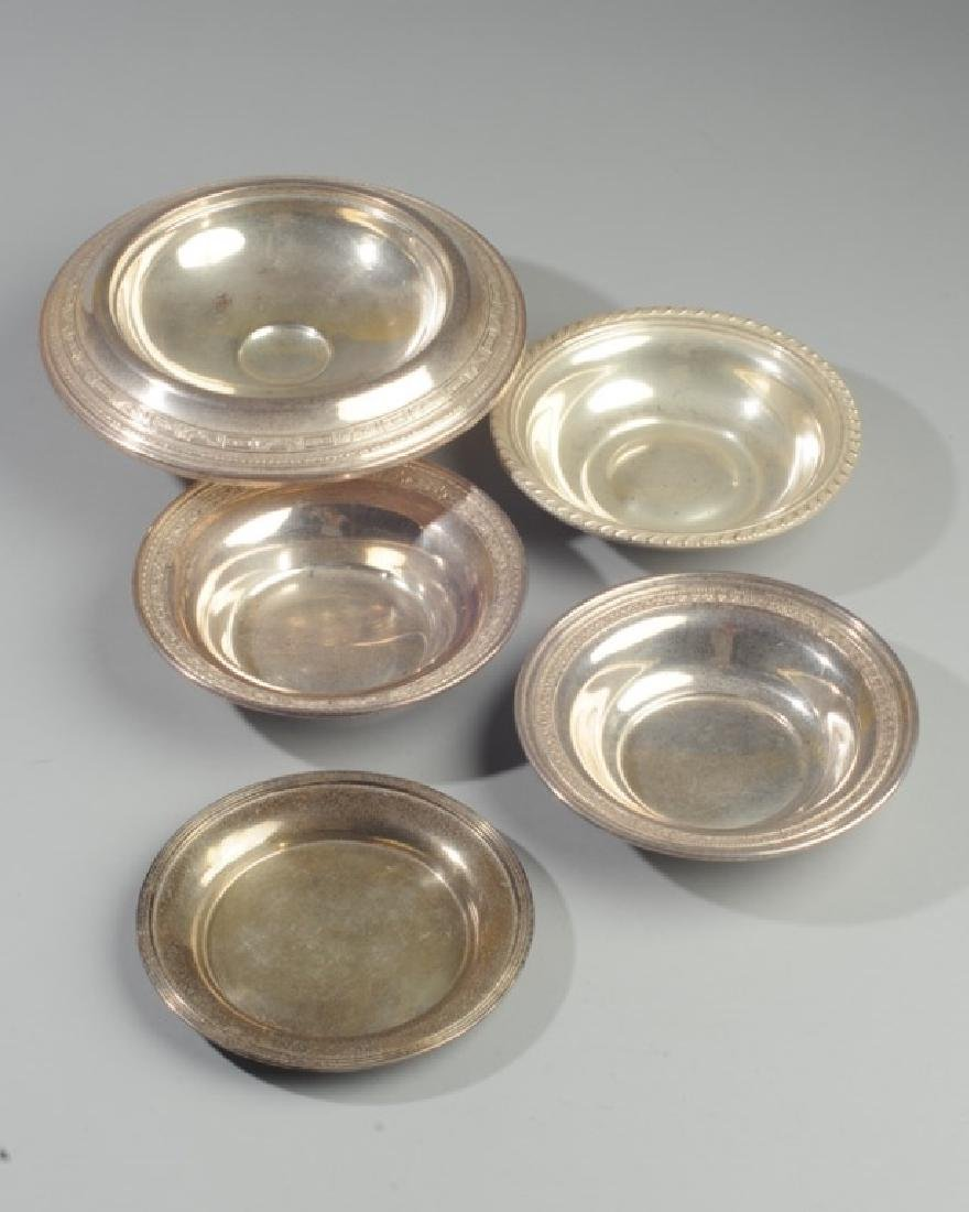 Mixed Lot Sterling Hollow Ware - 2