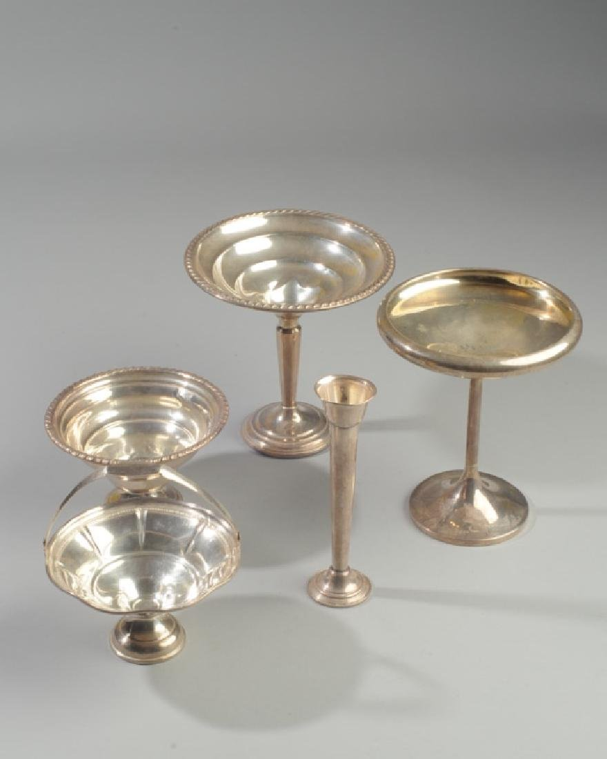 Lot Vintage Weighted Sterling, Alvin, La Pierre,