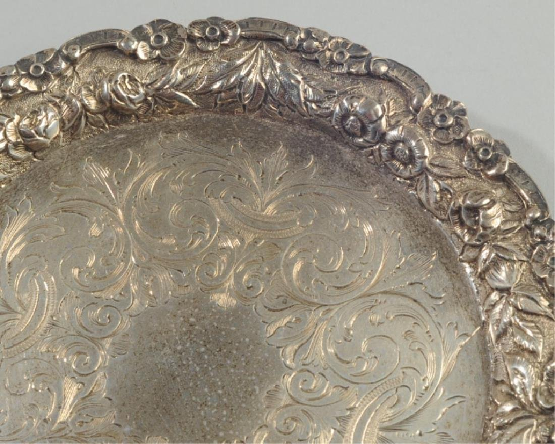 S. Kirk & Son Sterling Footed Salver - 3