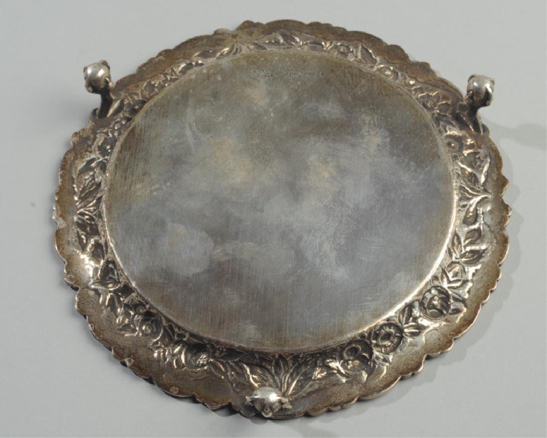 S. Kirk & Son Sterling Footed Salver - 4