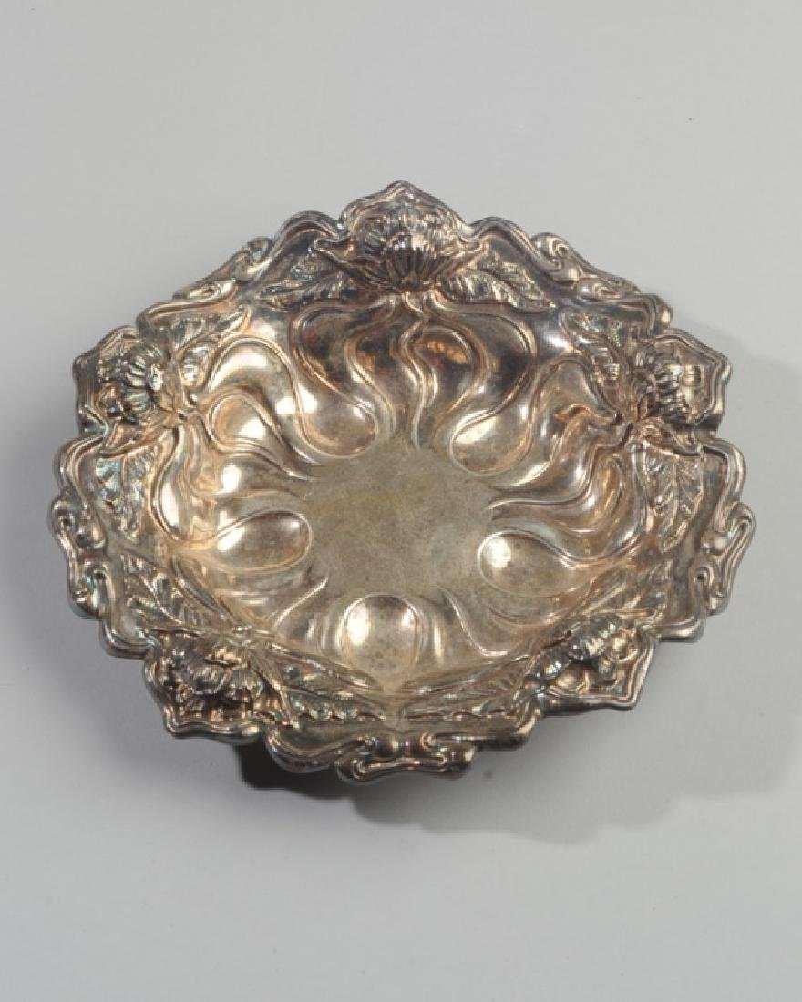 Sterling Silver Relief Bowl