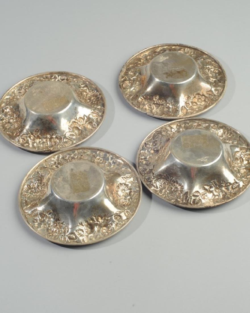 Four Kirk Sterling Silver Nut Dishes - 5