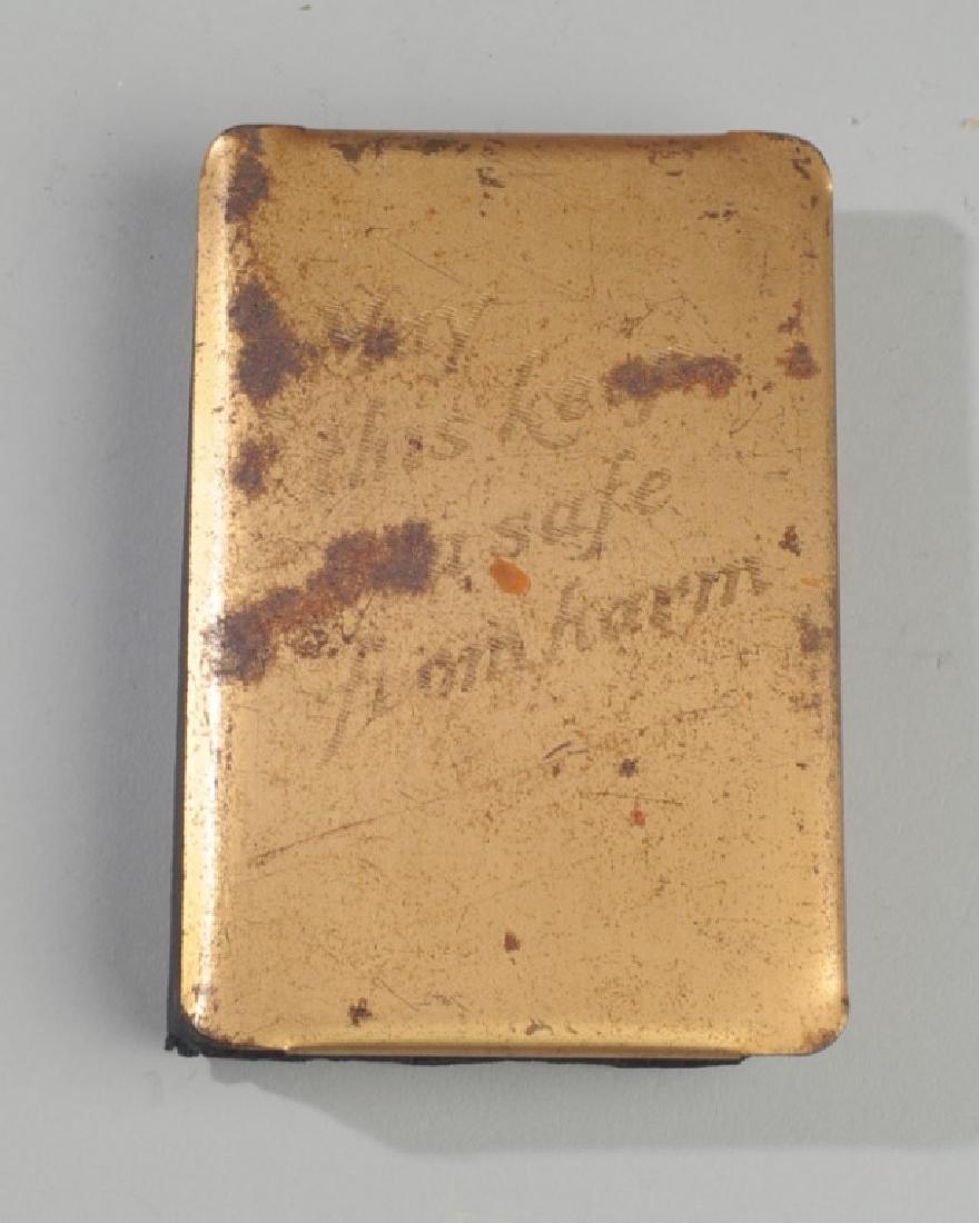 WWII Heart Shield Bible