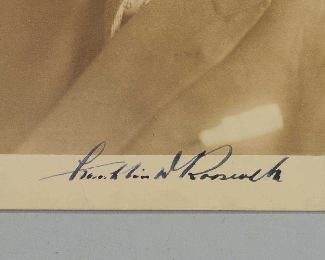 Franklin Delano Roosevelt Signed Photograph - 2
