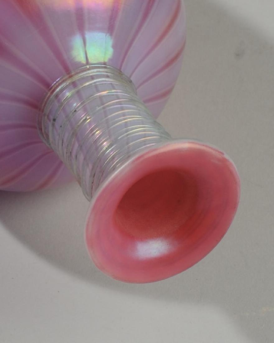 Scarce Steuben Glass Oriental Poppy Lamp Shaft - 5