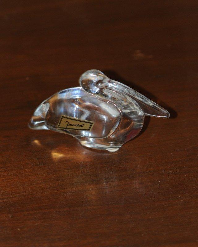 Baccarat Crystal Heart in Original Box and Pelican - 3