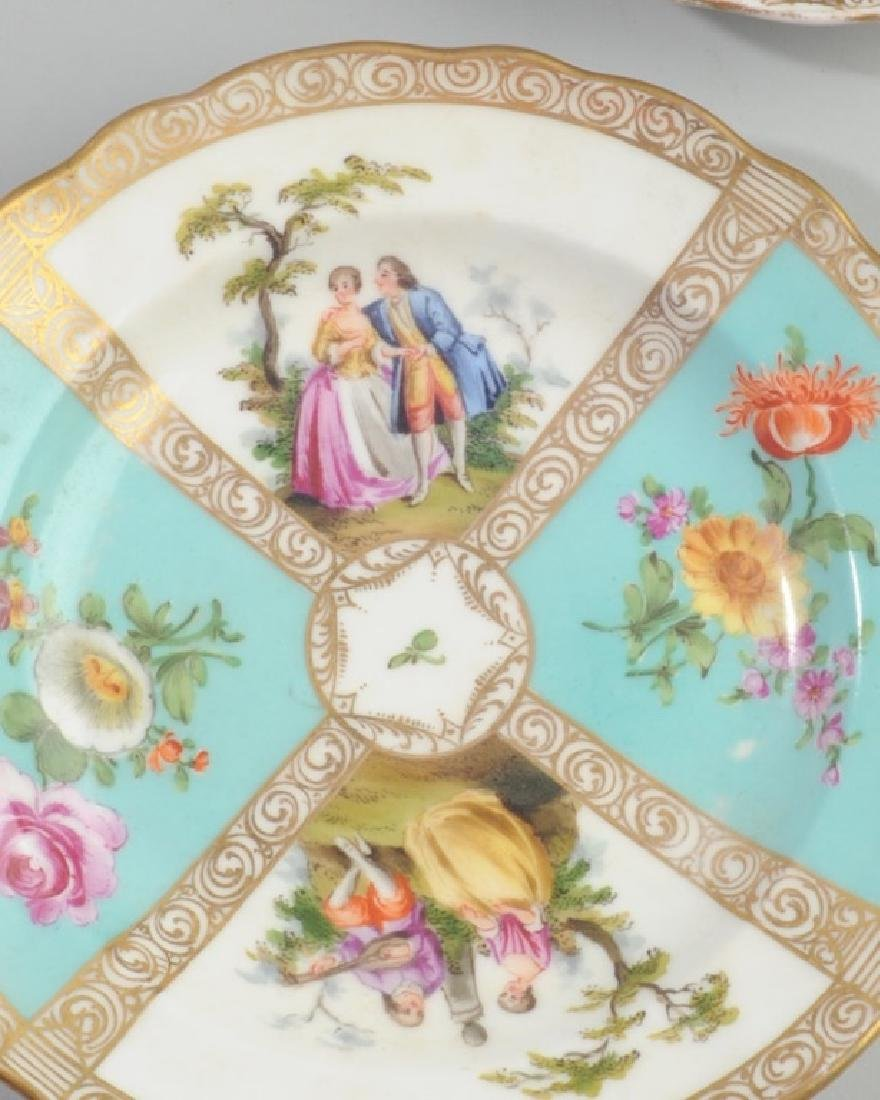 19th C. Meissen and Dresden Plates - 2