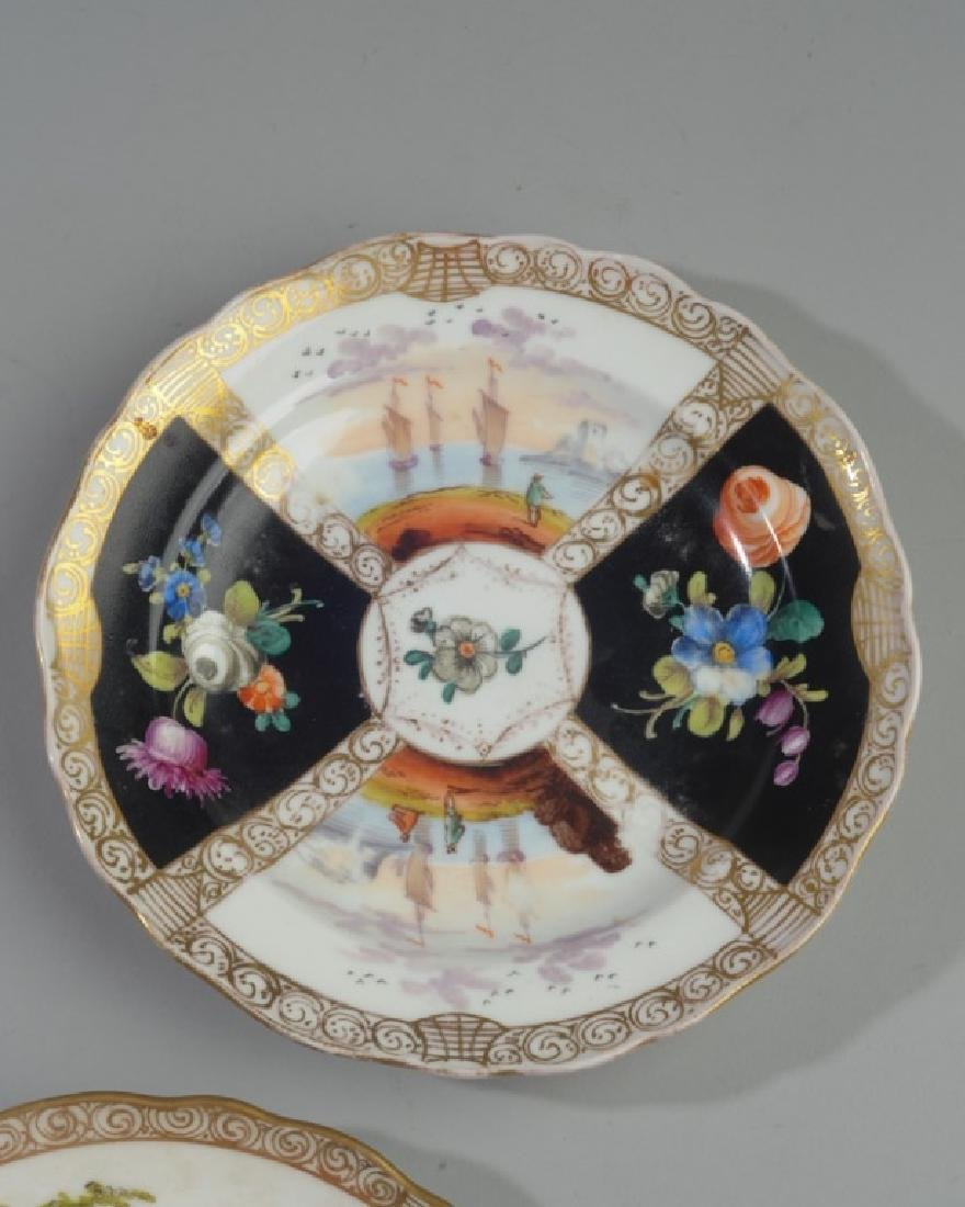 19th C. Meissen and Dresden Plates - 3