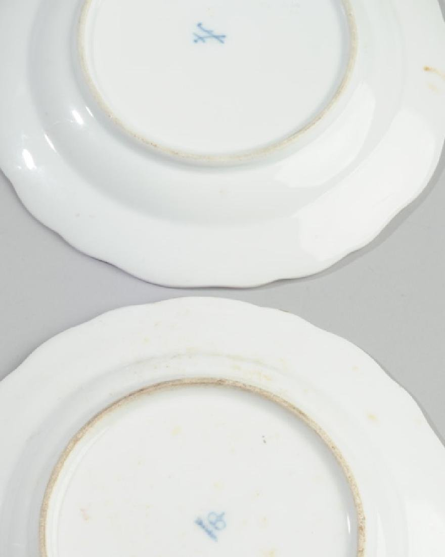 19th C. Meissen and Dresden Plates - 5