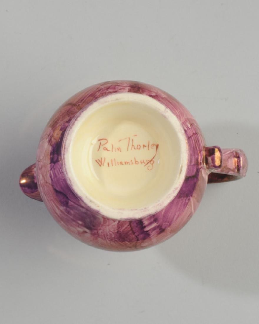 Mixed Copper & Pink Lustreware Lot - 4
