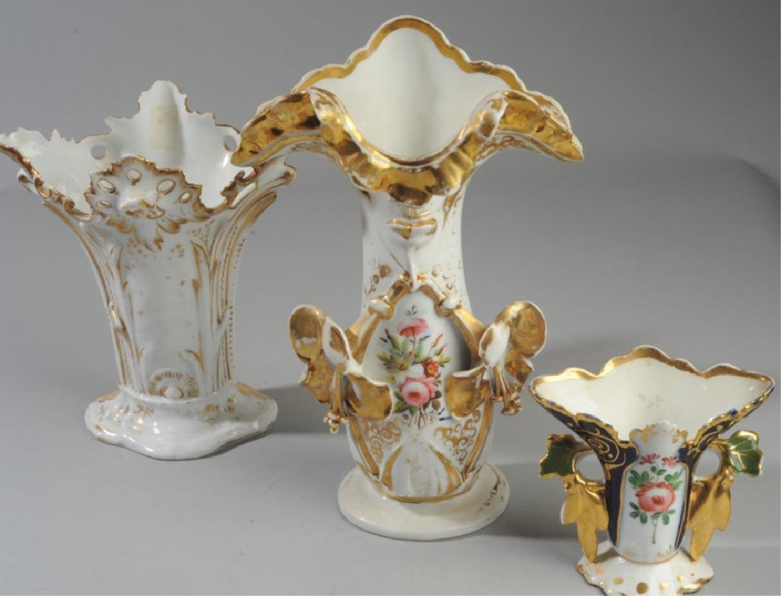 Three Old Paris Vases - 3