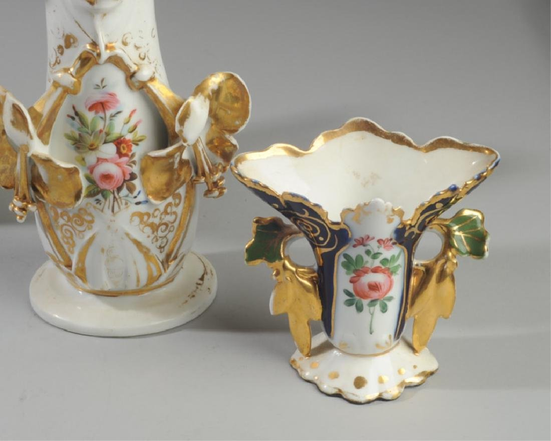 Three Old Paris Vases - 4