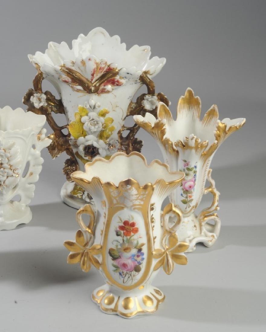 Five Old Paris Vases - 2