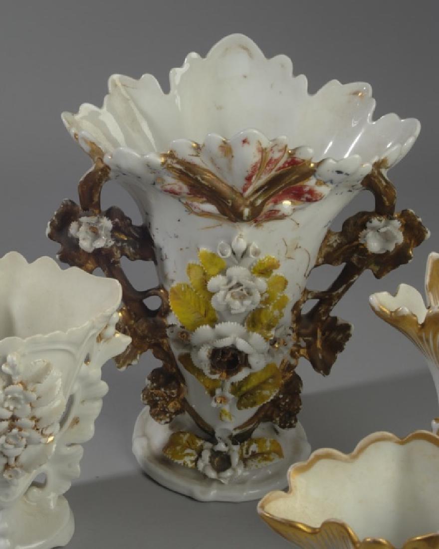Five Old Paris Vases - 3
