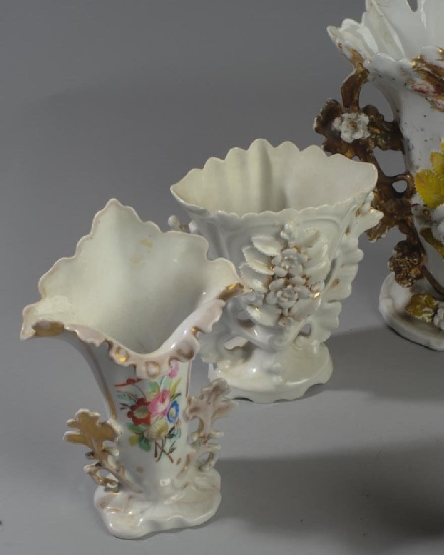 Five Old Paris Vases - 4
