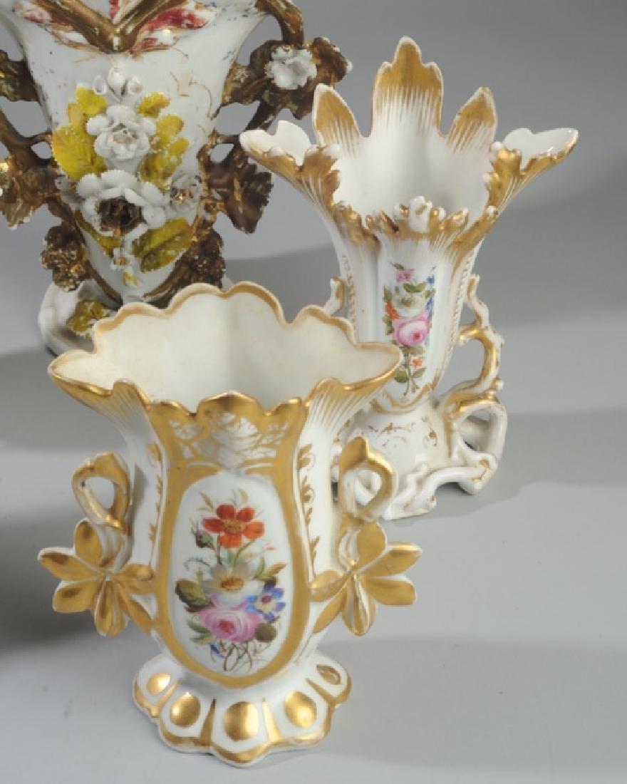 Five Old Paris Vases - 5