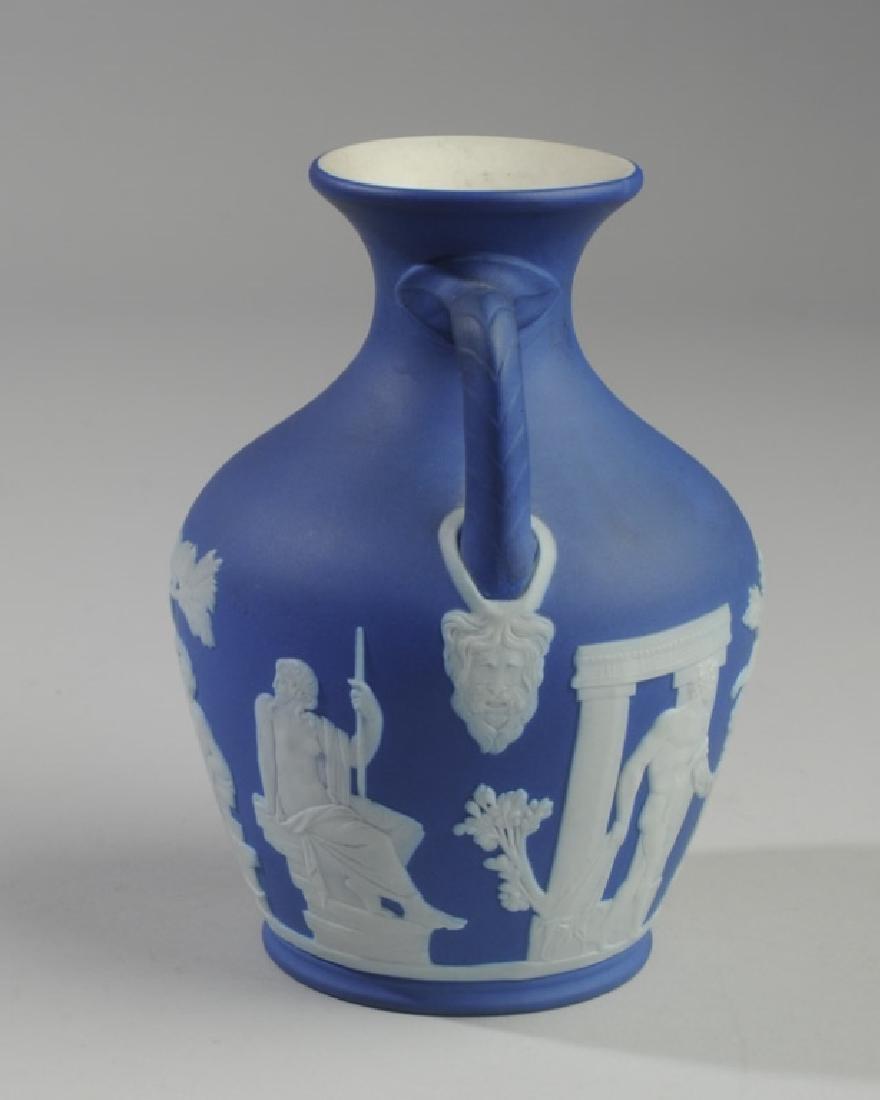 Wedgwood Dark Blue Jasperware Portland Vase - 2