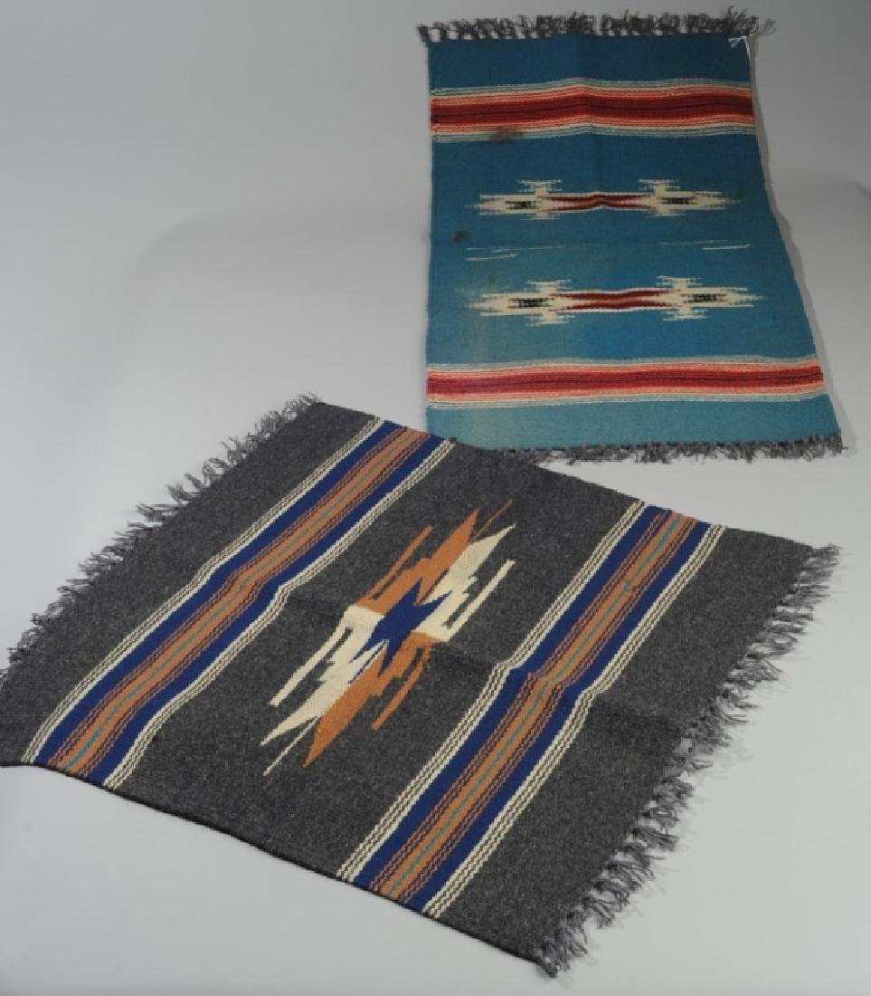 Two Vintage 1930s Chimayo Textiles