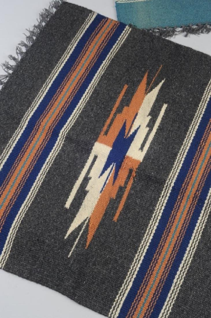 Two Vintage 1930s Chimayo Textiles - 2