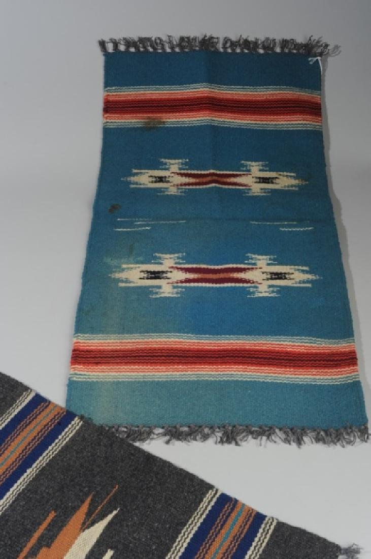 Two Vintage 1930s Chimayo Textiles - 3