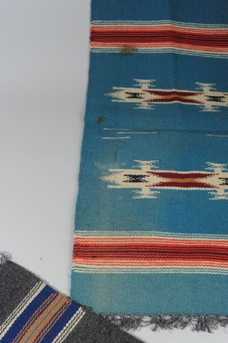 Two Vintage 1930s Chimayo Textiles - 5