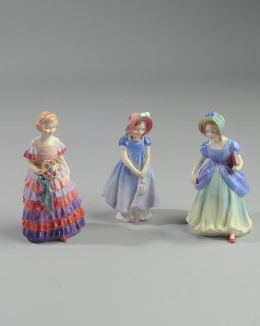 Two Diminutive Royal Doulton Figures