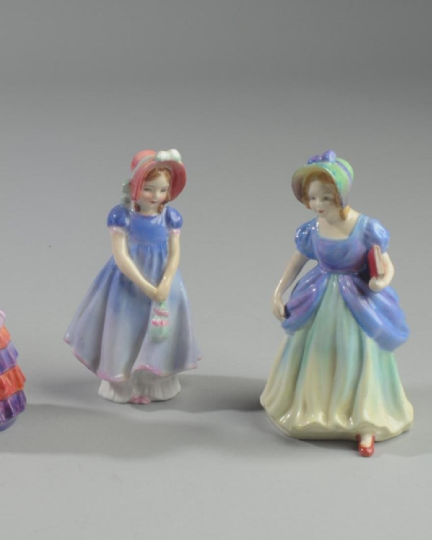 Two Diminutive Royal Doulton Figures - 2