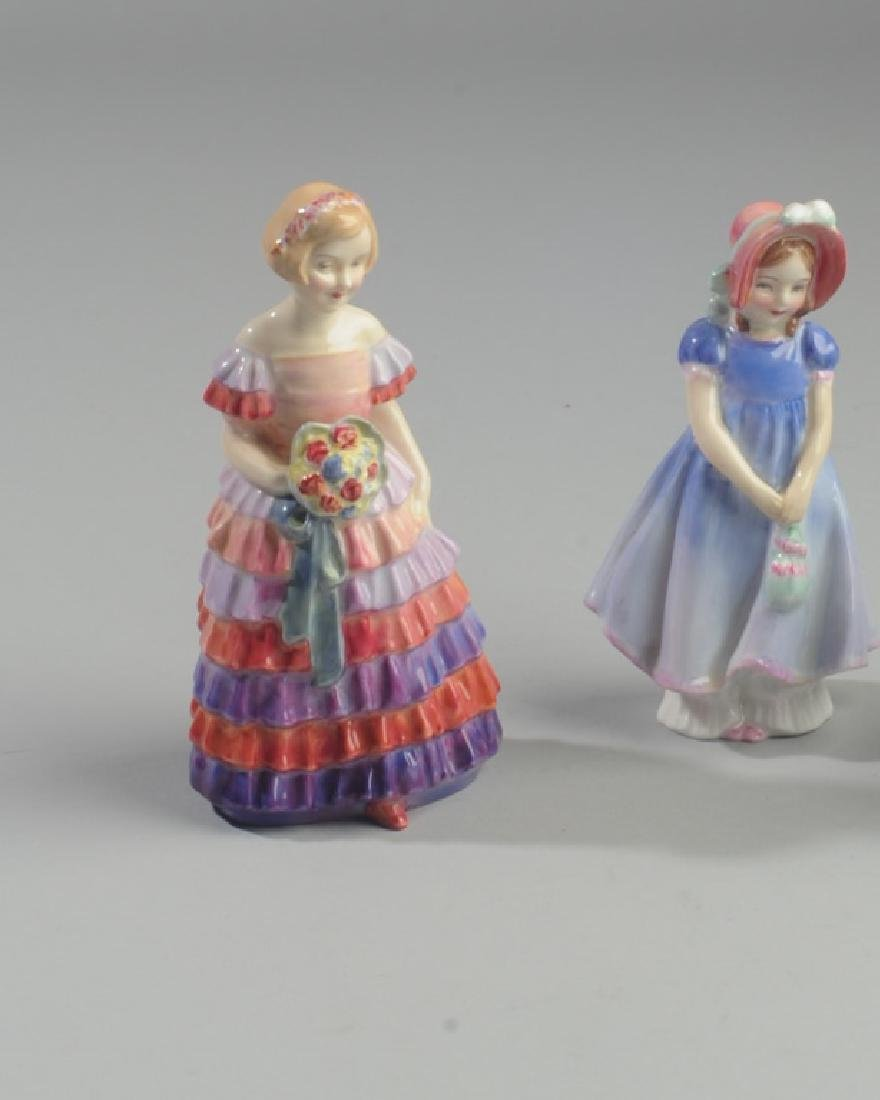 Two Diminutive Royal Doulton Figures - 3