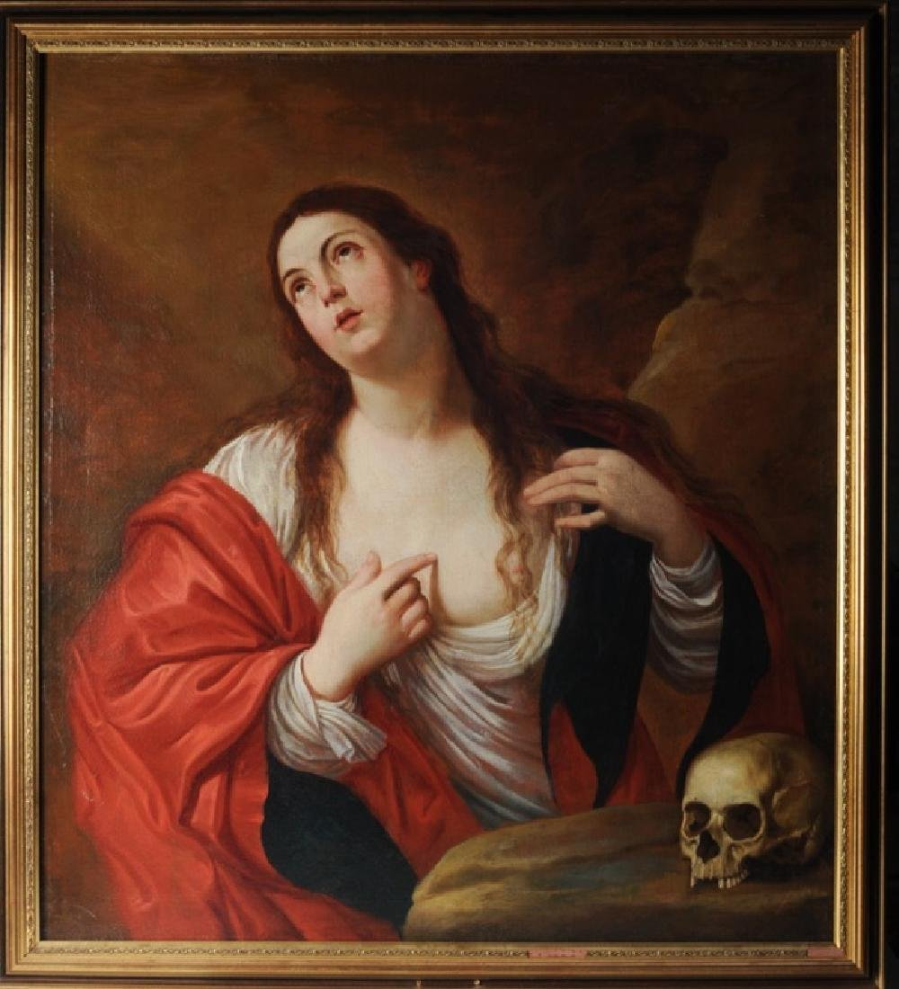 Mary Magdalen After Guido Reni, Gaspar De Crayer