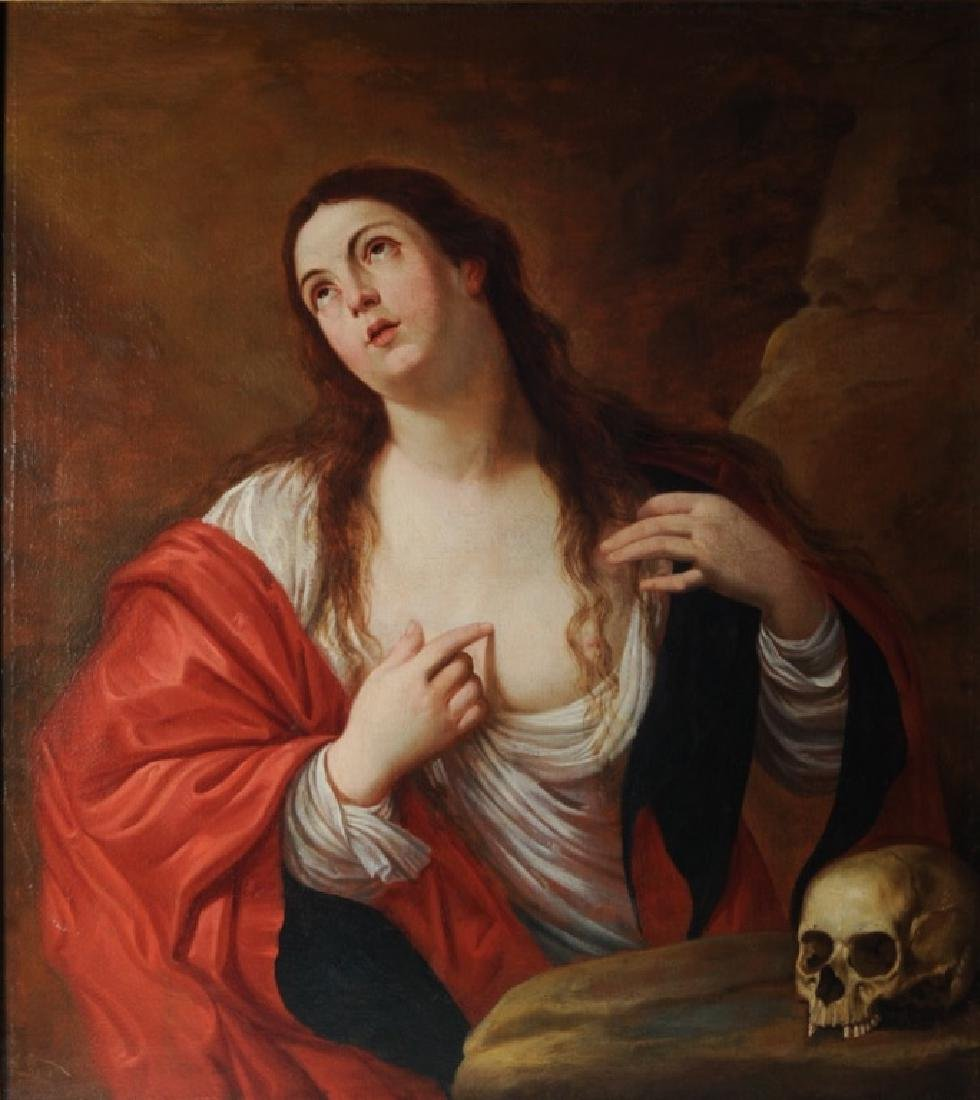 Mary Magdalen After Guido Reni, Gaspar De Crayer - 2