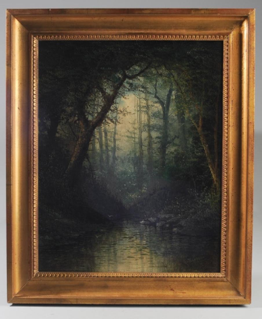 Alden Sampson (1853 - ?) Oil on Canvas
