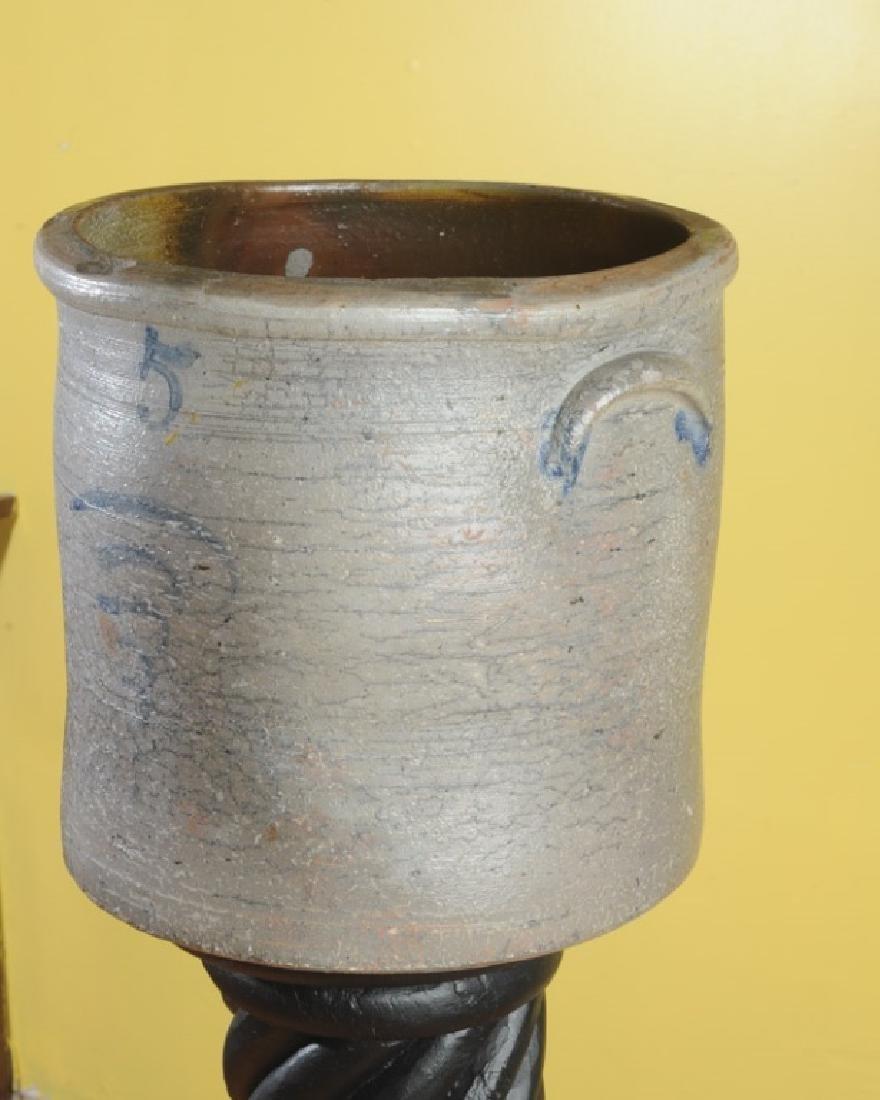 Unusual 5 Gallon Virginia Crock - 2
