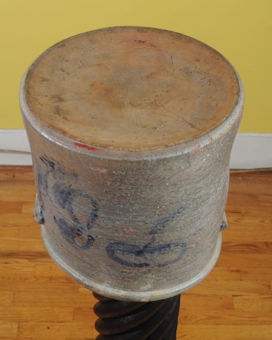 Unusual 5 Gallon Virginia Crock - 6