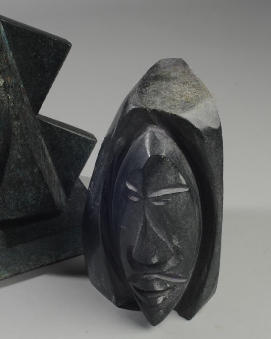 Two David Breeden Stone Sculptures - 2