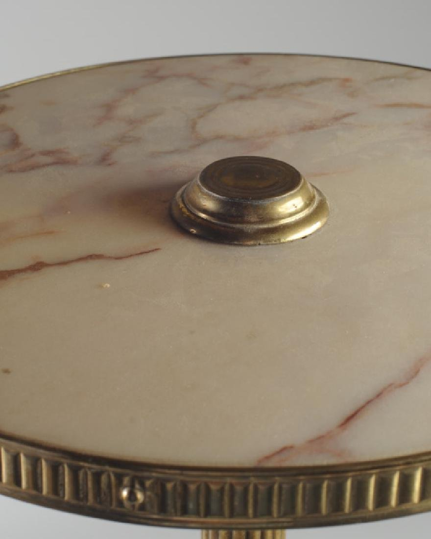 19th C. French Gilt Bronze Marble Top Gueridon - 2