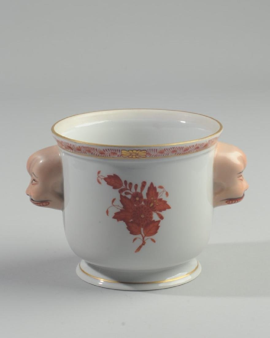 Herend Asian-Theme Vase