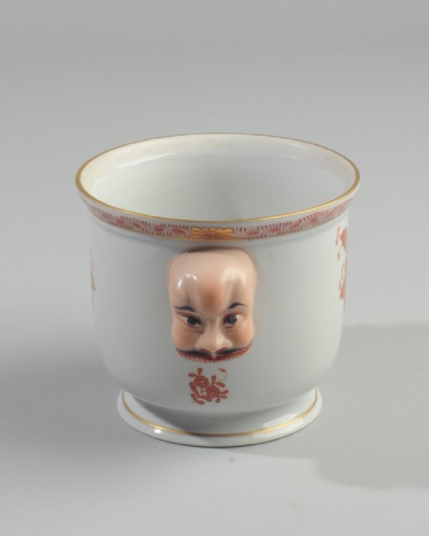 Herend Asian-Theme Vase - 2