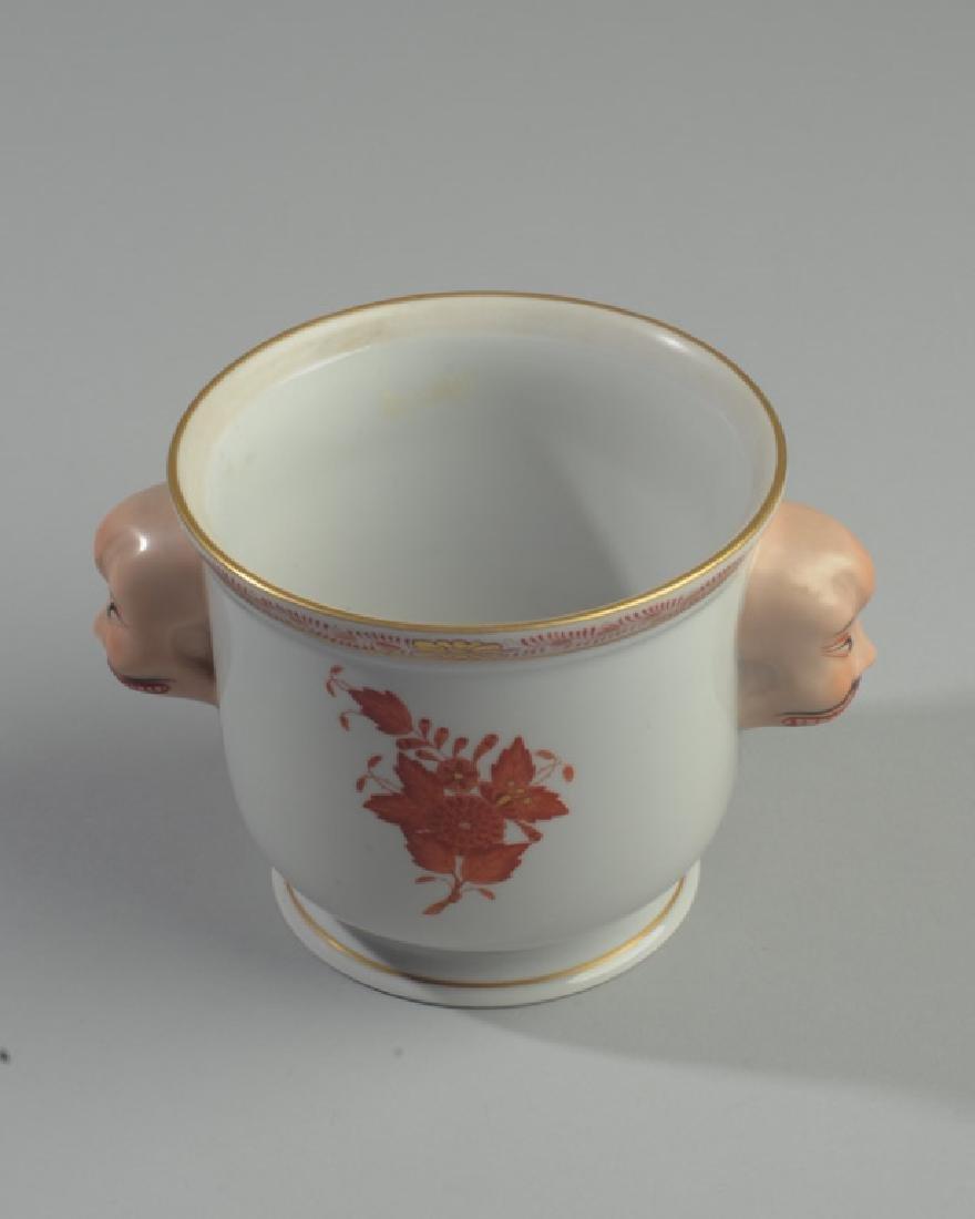 Herend Asian-Theme Vase - 3