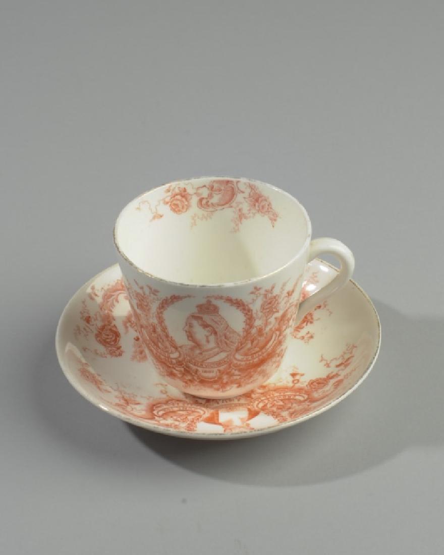 Queen Victoria Diamond Jubilee Cup & Saucer