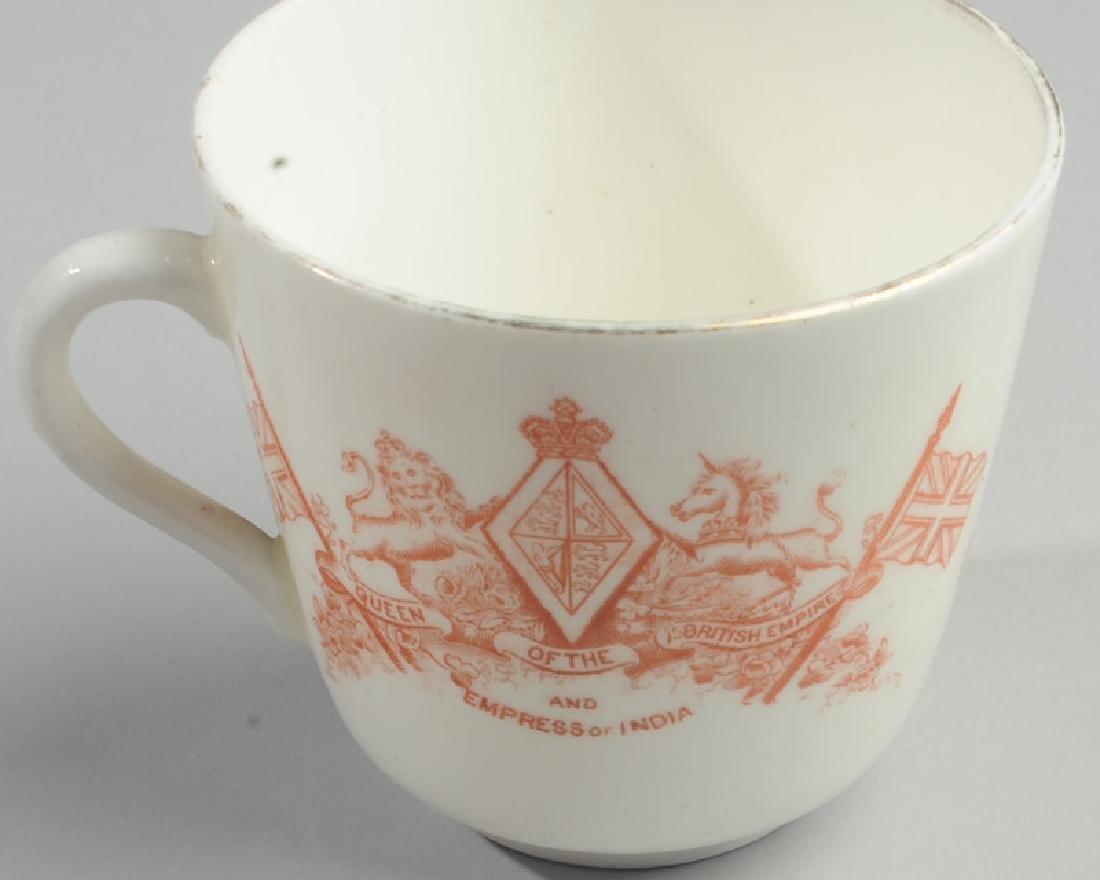 Queen Victoria Diamond Jubilee Cup & Saucer - 4