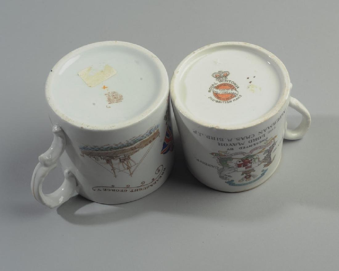 Two 1911 British Royalty Mugs - 3