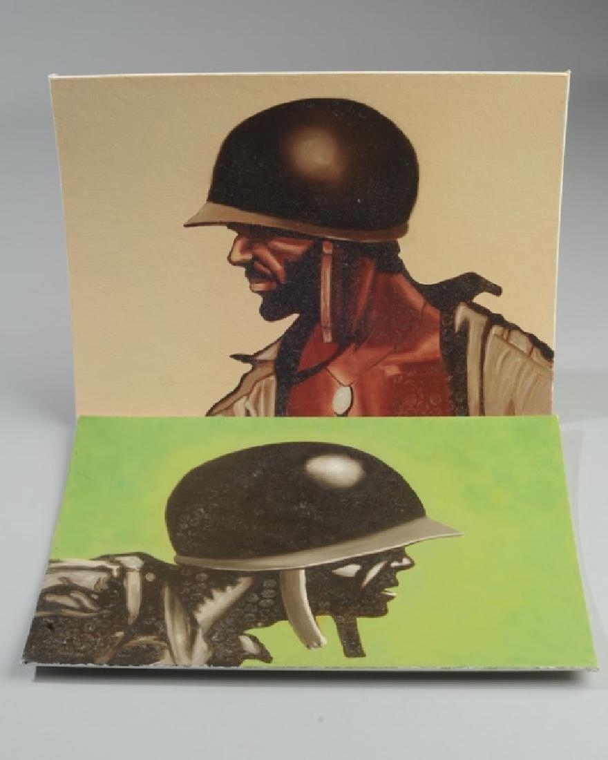 Two William Rogan Oils of Marines