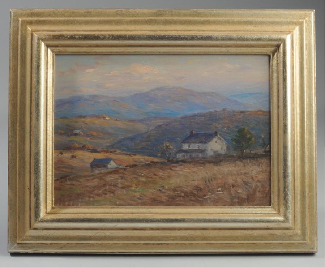 Eliot Candee Clark (1883 - 1980) Oil on Board