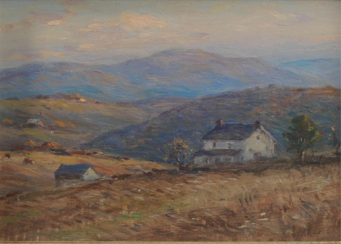 Eliot Candee Clark (1883 - 1980) Oil on Board - 2