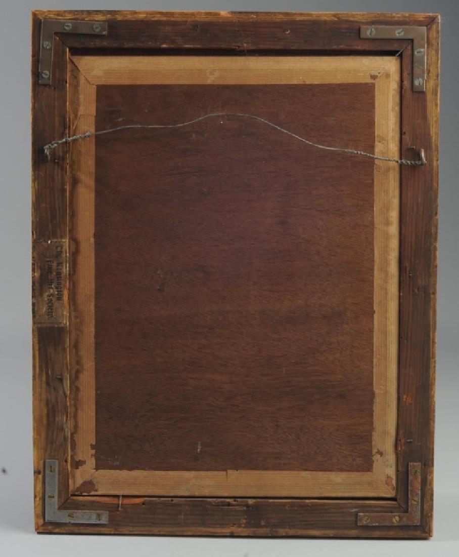 19th C. Oil on Panel of Gentleman - 2
