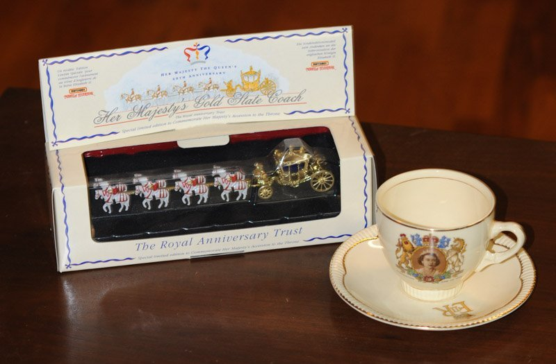 Queen Elizabeth Coronation Cup & Saucer